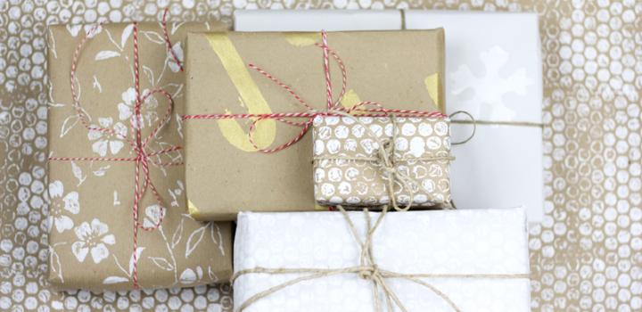 DIY: Last-Minute-Geschenkpapier