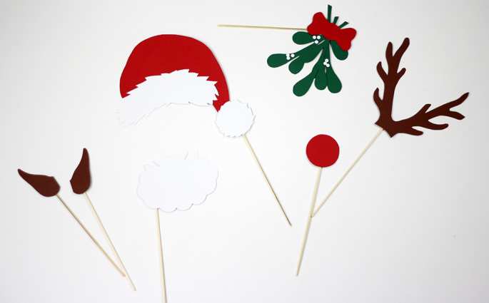 DIY: Weihnachten Photo Booth | we love handmade