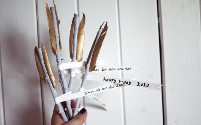 DIY: arrow love   we love handmade