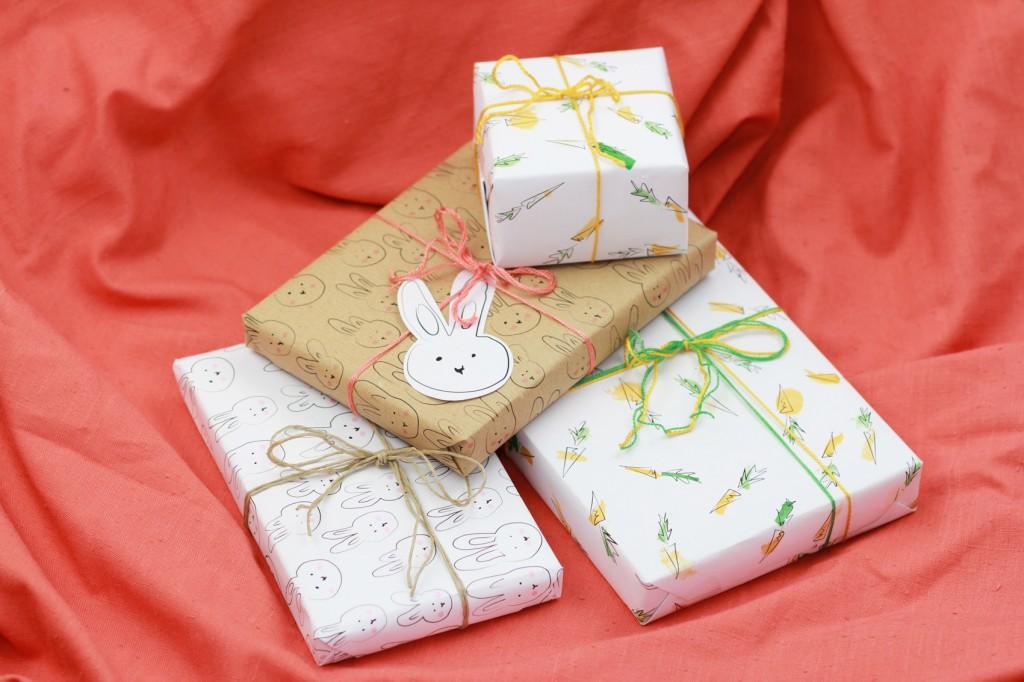 Geschenkpapier Ostern |we love handmade