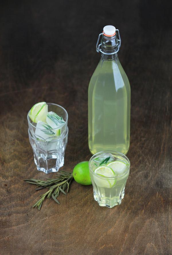 eiswuerfel limonade