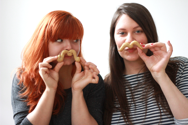 we love handmade team mustache