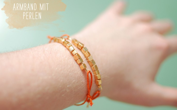 Perlenarmband | we love handmade