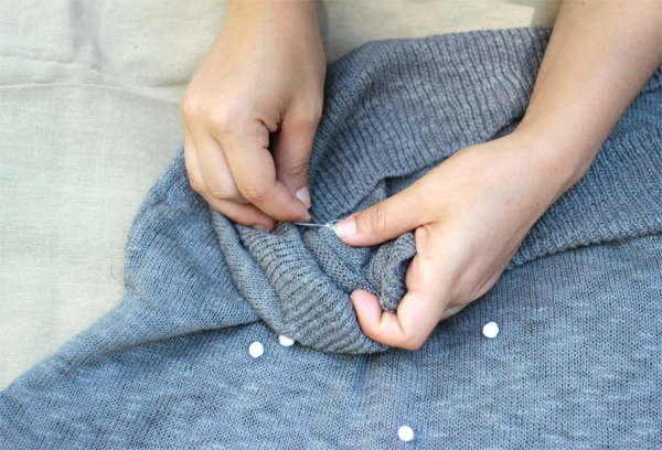 DIY PomPom Pullover