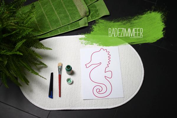 Diy Badezimmerteppich We Love Handmade