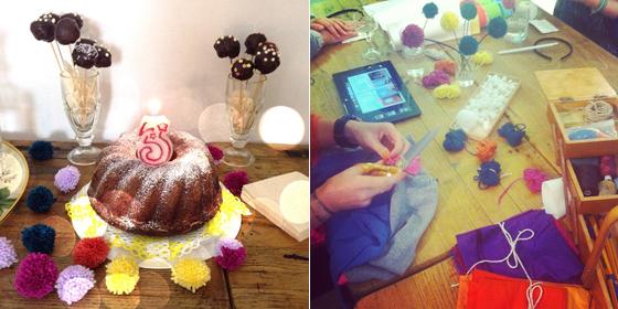 PomPom Craft-Party