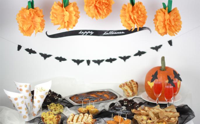 Halloween Food Table | we love handmade