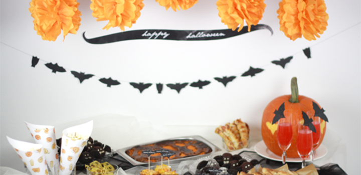 Food: Halloween Table