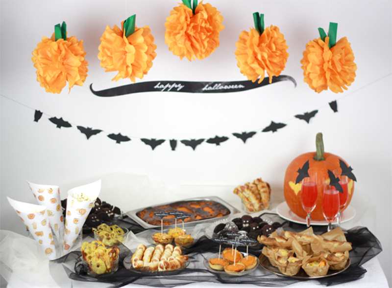 Halloween Food Table | we love handmade