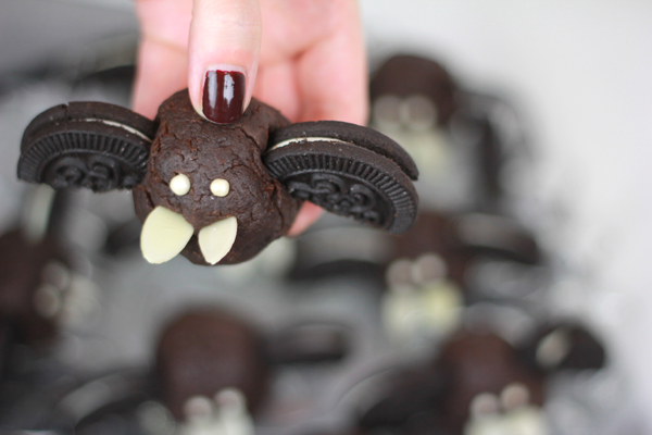 Fledermaus Cake-Pops