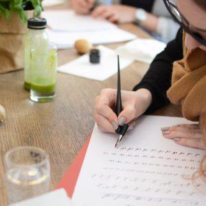 Kalligraphie-Workshop