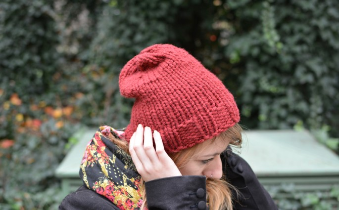 Strick-Beanie DIY | we love handmade