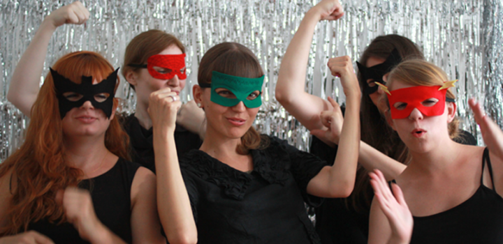 DIY: Superheldinnen