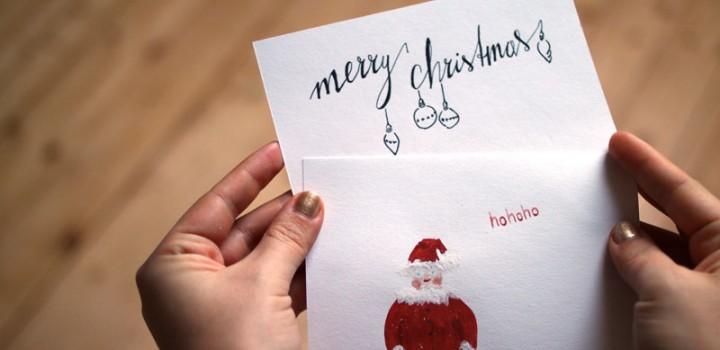 we love Design: Weihnachtskarten