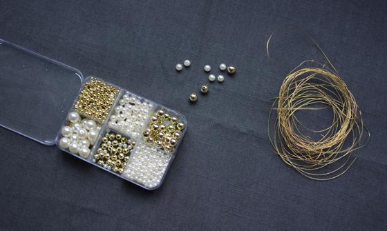 DIY Perlenanhänger | we love handmade