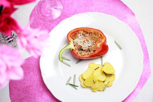 gefüllte Paprika | we love handmade