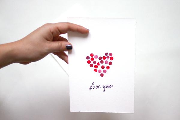 DIY: Valentinstag Vday Karten stempeln | we love handmade