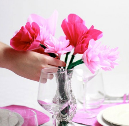 DIY: Blumenstrauß aus Krepppapier