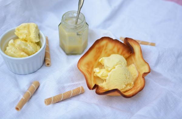 Rezept für Karamell-Vanille-Eis | we love handmade