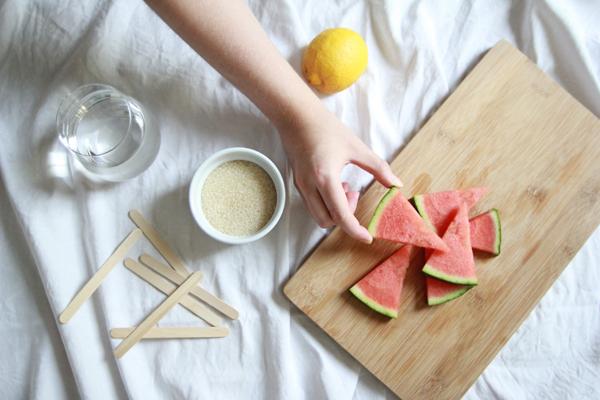 Wassermelonen Eislutscher Zutaten | we love handmade