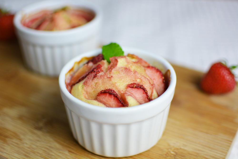 Rezept für Erdbeer-Minz-Törtchen | we love handmade