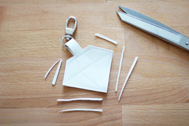 Leder schneiden | we love handmade