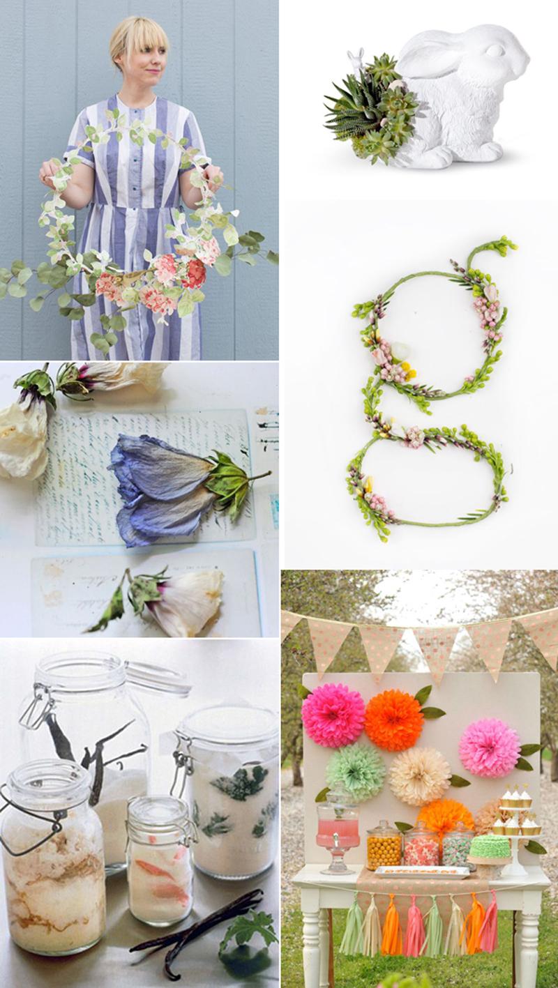 we love Inspiration: Flowers | we love handmade