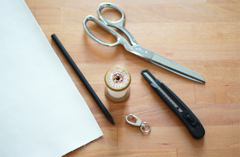 Keyholder Material | we love handmade
