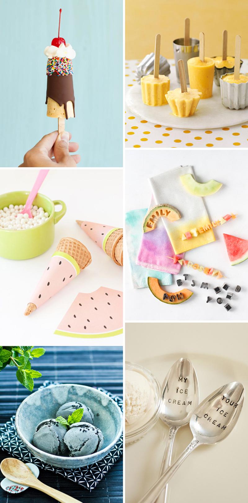 we love Inspiratioin: Ice cream | we love handmade