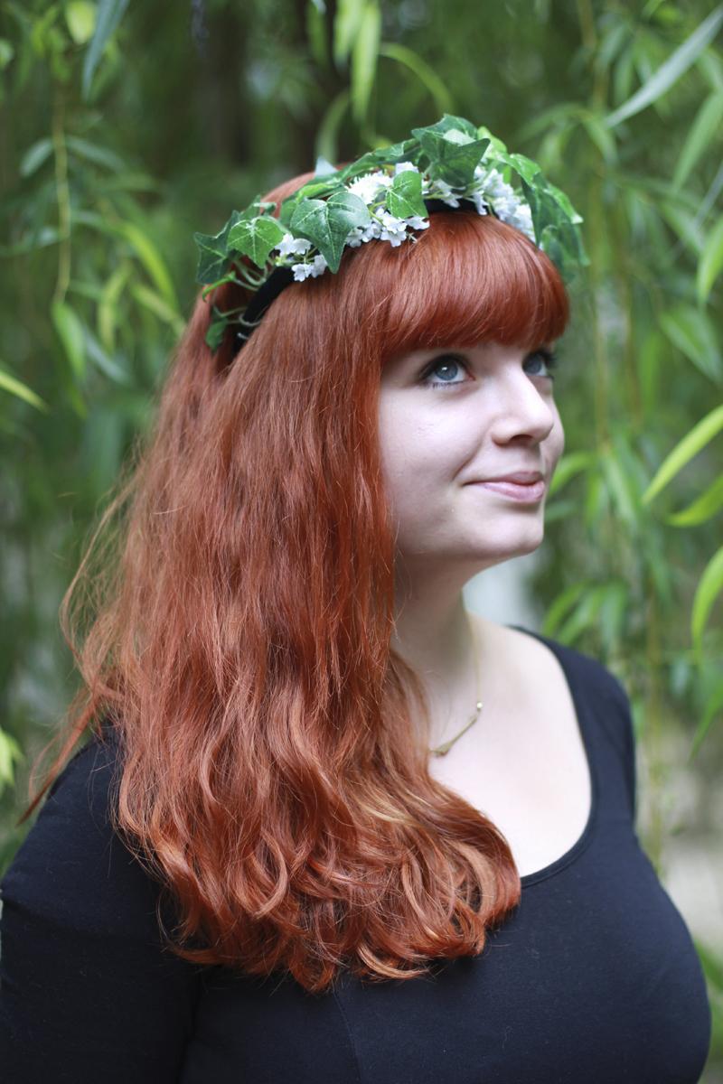 Blumenkranz getragen | we love handmade