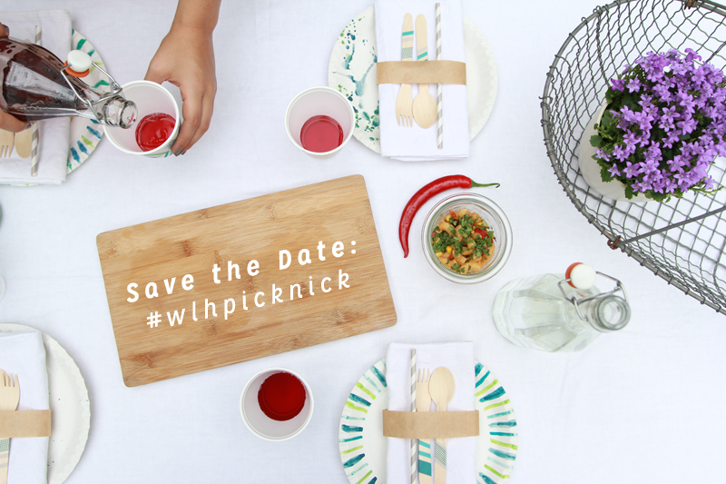 Save the date #wlhpicknick | we love handmade