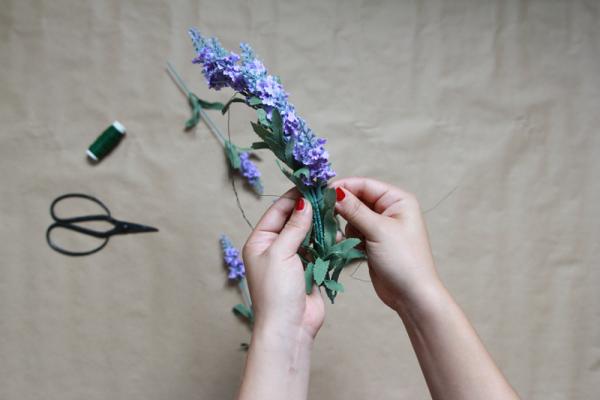 DIY Blumenkrone | we love handmade