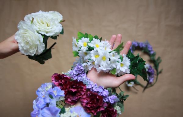 DIY Blumenkronen | we love handmade