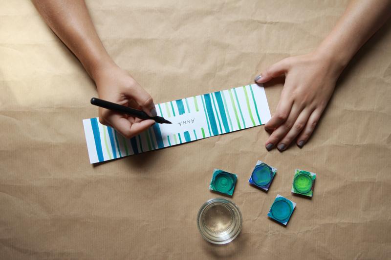 DIY: nametag schreiben | we love handmade