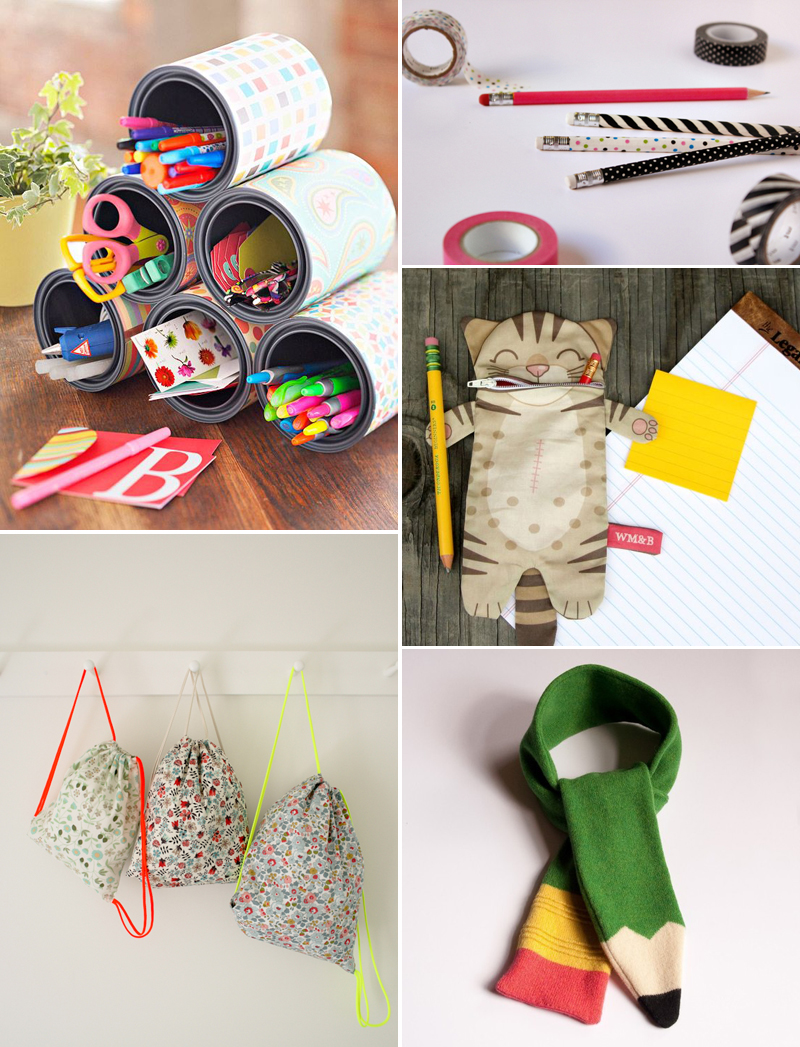 DIY-Inspirationen: back to school