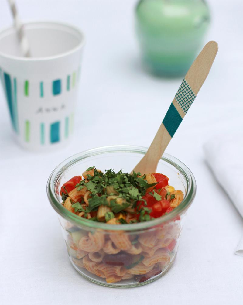 Rezept: Mexikanischer Nudelsalat | we love handmade