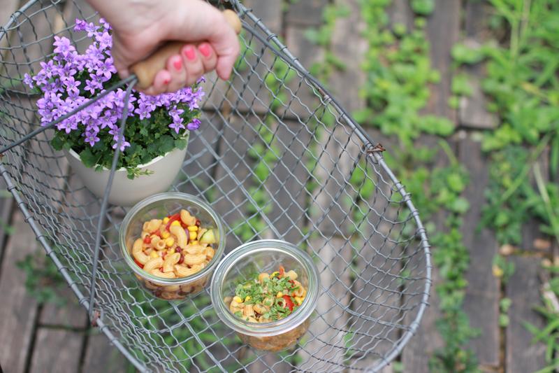 Rezepte für's Picknick: Nudelsalat | we love handmade
