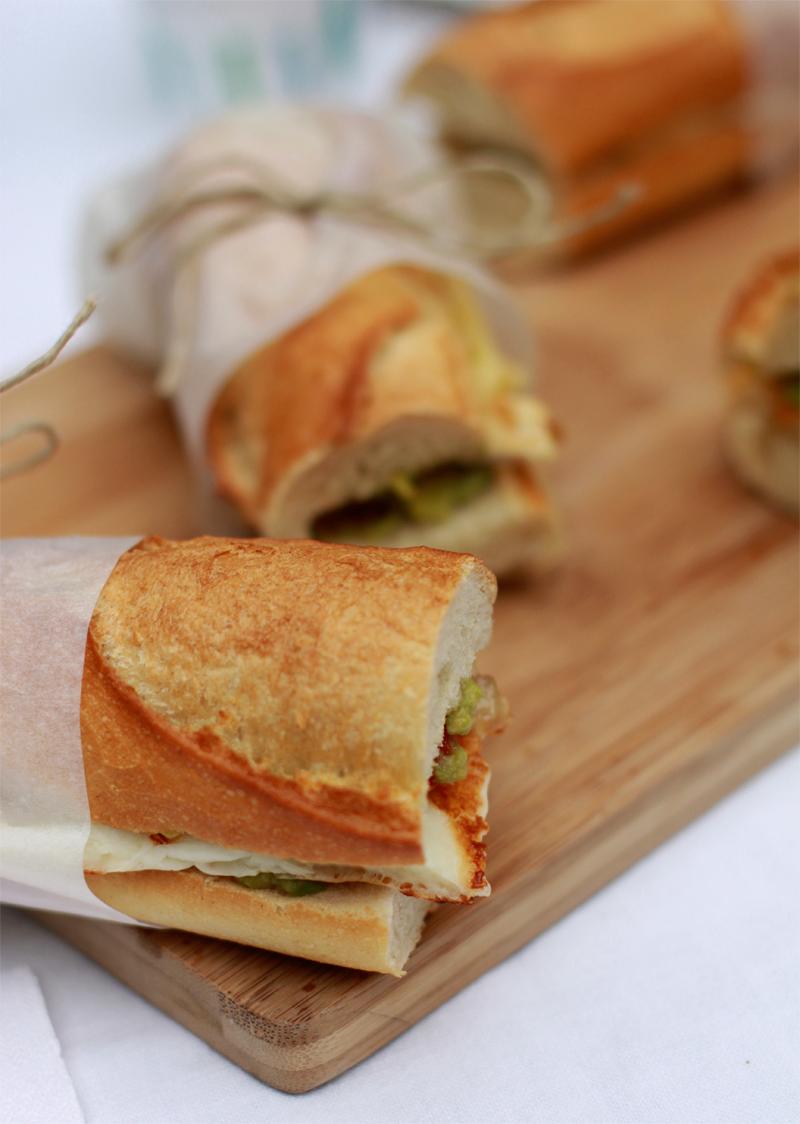 Rezept für Sandwiches | we love handmade