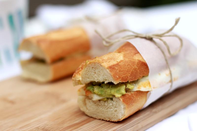 Rezept für Veggie Sandwich | we love handmade