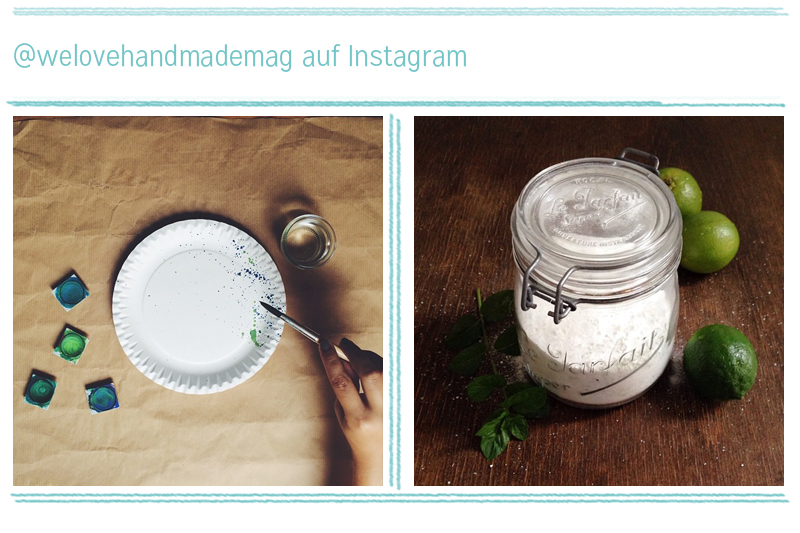 we love Instagram | we love handmade