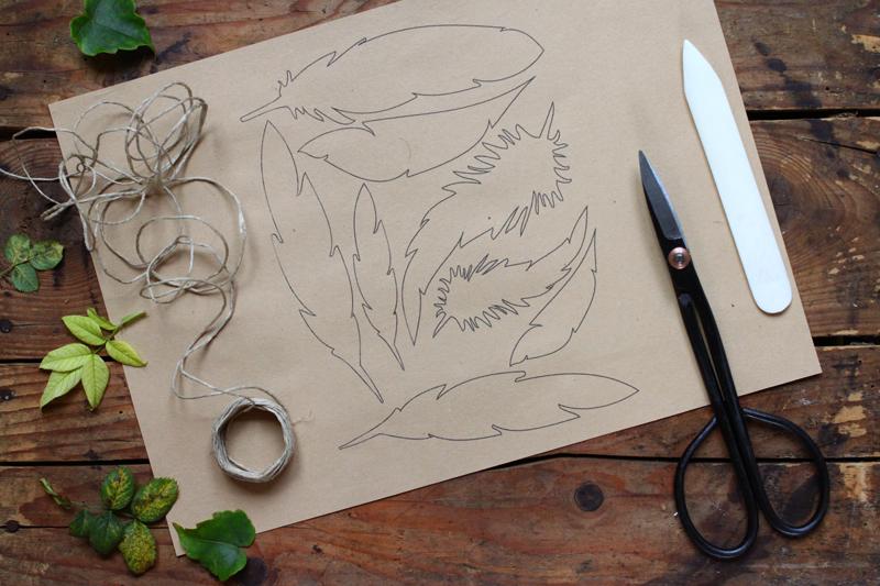 we love handmade   papierfedern