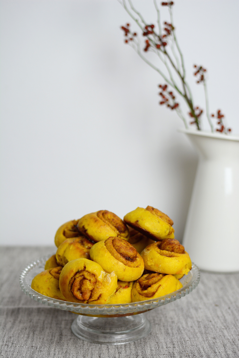 Kürbisschnecken Rezept | we love handmade