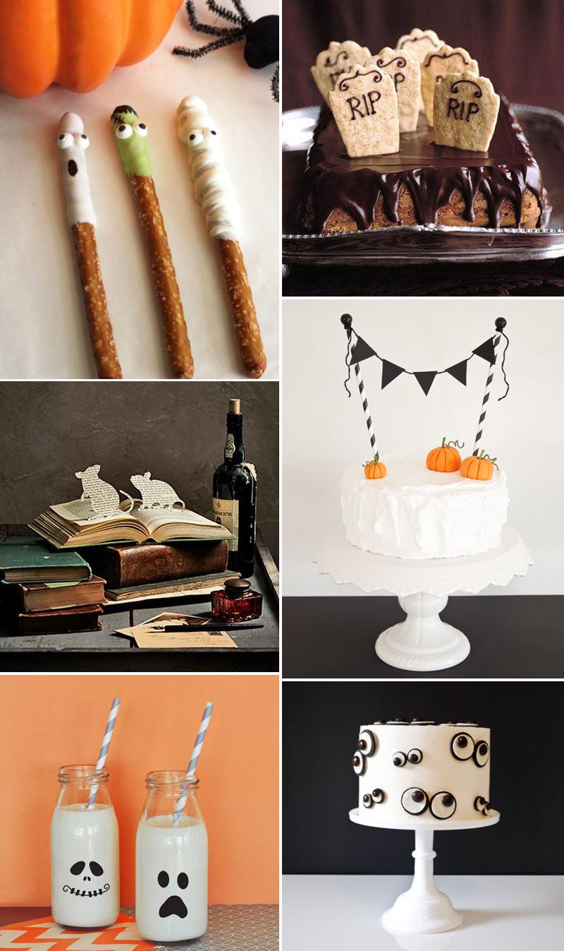 Inspirationen udn Ideen für halloween