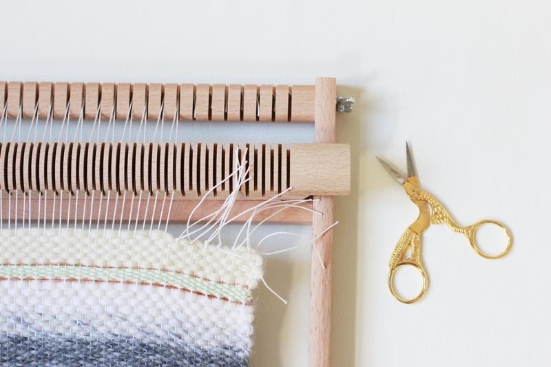 DIY Weben Knoten