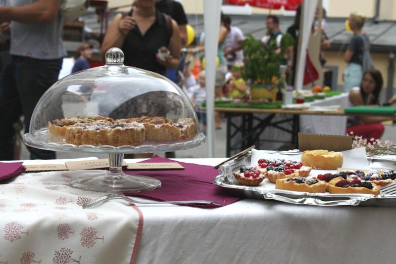 Blatt und Blüte Kuchen | we love handmade
