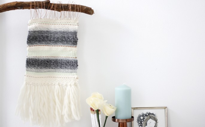 DIY: Wandteppich   we love handmade