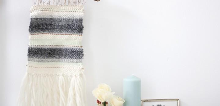 DIY: Mini-Wandteppich weben