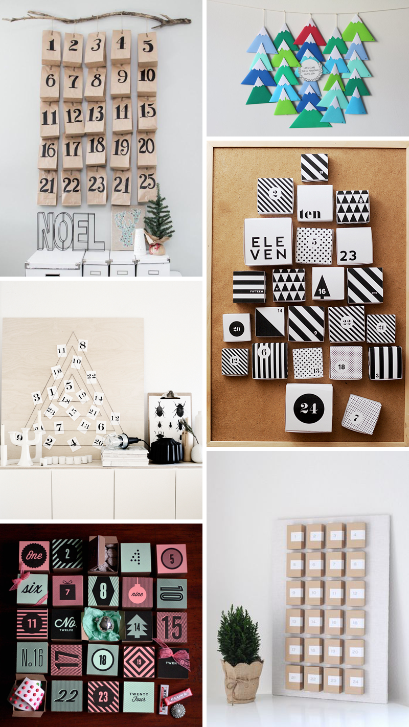 Adventkalender DIY