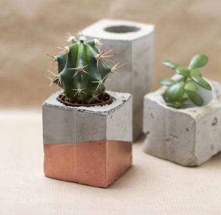 DIY: Vasen aus Zement
