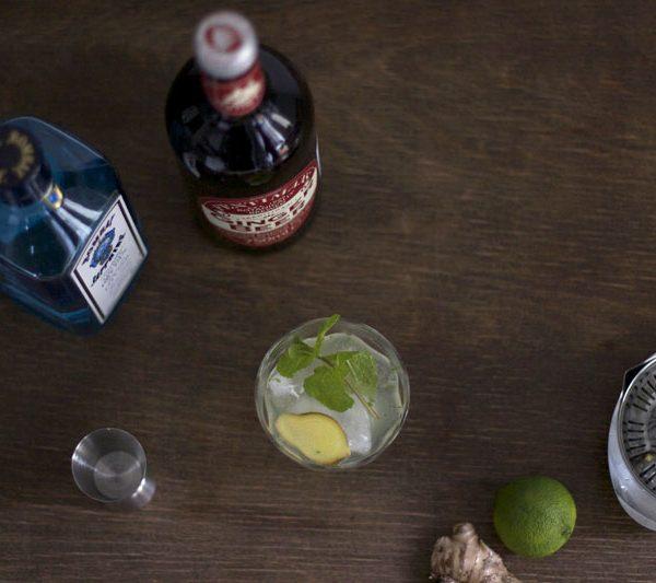 Gin Gin Mule Cocktail Rezept